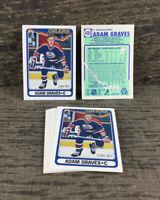 1990-91 O-Pee-Chee - Lot of 8 - Adam Graves #480 Edmonton Oilers NHL Hockey Card