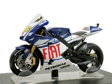 Leo 1:18 Motogp Yamaha YZR M1 WC2010 #46 Rossi Diecast Motorcycle