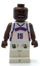 LEGO NBA Vince Carter, Toronto Raptors #15 MINIFIGURE BASKETBALL SPORTS FIG