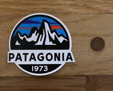 Patagonia Fitz Roy Calif 1973 Mountain Sticker Decal Hike Fish Camp Car Yeti