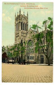 New York City NYC- 155TH STREET PRESBYTERIAN CHURCH-WASHINGTON HEIGHTS -Postcard