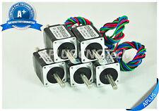 1.8degree 4wires 5 PCS NEMA 17 Stepper Motor 56.5oz-in 40mm 1.7A