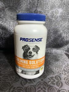 Pro-Sense Calming Solution For Dogs 60 Chewable Tablets EXP 06/23