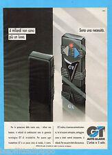 QUATTROR991-PUBBLICITA'/ADVERTISING-1991- GT AUTO ALARM