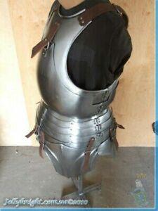 Medieval Breastplate Cuirass Armor Knight Warrior Larp Cosplay Costume Halloween