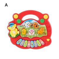Kind Baby Toy Farm Piano Musikalische Bildungsentwicklung Spielzeug Spaß Mu I2D9