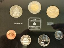 2002 Specimen set of Canadian coinage