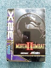SEGA MEGADRIVE 32X MORTAL KOMBAT II 2 Acclaim MIDWAY software video game