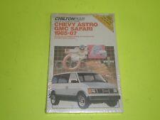 1985-1990 CHEVROLET ASTRO GMC SAFARI CHILTON REPAIR MANUAL NEW IN WRAPPER