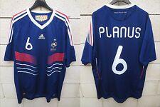 Maillot EQUIPE de FRANCE Coupe du Monde Marc PLANUS n°6 ADIDAS shirt XL trikot
