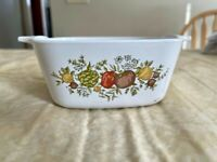 Vintage Corning Ware Spice of Life 2 3/4 Cup Small Casserole P-43-B