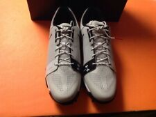 b42089fff733 Under Armour UA Tempo Sport Golf Shoes Sz 9 Gray White Black Men s  1288576-101