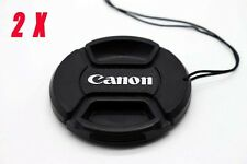 2Pcs Canon 58mm Cap Cover EOS 100D 650D 750D 600D 700D with 18-55mm 58mm Lens