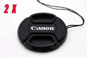 Canon 67mm Cap Cover for Canon EOS 700D 60D 70D 600D 18-135mm 17-85mm Lens-2Pack