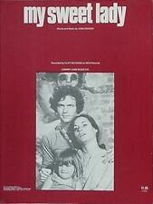 CLIFF DEYOUNG SHEET MUSIC, 1971 - MY SWEET LADY