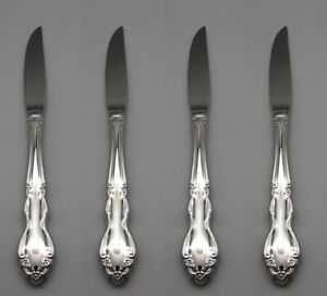 Oneida Stainless Dover (Glossy) Steak Knives - Set of Four New