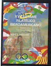 Santo Tomé y Principe Certamen F. Iberoamericano Barcelona año 1991 (CW-864)
