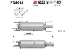 Filtro particulas SAAB 9-3 1.9TID DPF 1910 cc 110 Kw / 150 cv Z19DTH  2/06>