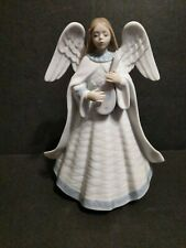 """Lladro Porcelain Angel 05963 """"Angelic Melody"""" Figurine With Box"""