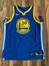 Nike NBA GS Warriors AUTHENTIC Trikot | 30 - Steph Curry | Gr. M | Blau | NEU