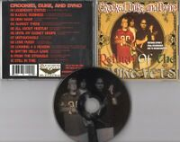 Crooked, Duke, and Dyno CD RETURN OF THE LIVING VETS © 2004 USA Gangsta Hip Hop