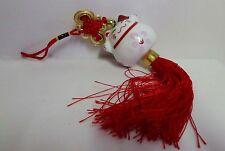 Maneki Neko Large Lucky Cat Treasure Comes & Safety Fortune Hanging Charm