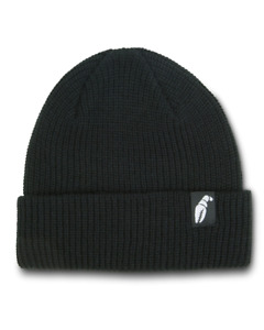 Crab Grab The Claw Label Beanie in Black