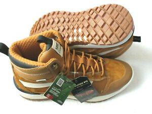 Vans Mens UltraRange Exo Hi MTE Boots Pumpkin Spice Brown White Size 9 NEW