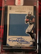 2016 Panini Preferred Silhouettes Derrick Henry RC Rookie Jersey Auto #05/99