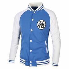 Men Anime Thicken Sweater Hoodies Fleece Jacket Coat  M