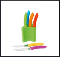 Kitchen Steak Knife Set - 7 Piece Knives Set- Brighten up your kitchen