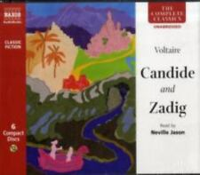 Candide and Zadig by Voltaire (2008, CD)