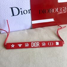 Newest DIOR Beauty Rouge Red Bracelet VIP Gift