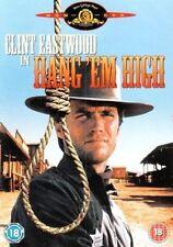 Hang 'em High 5050070004038 With Clint Eastwood DVD / Widescreen Region 2