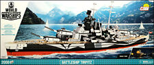 COBI Tirpitz (3085) - 2000 elem. - WWII German battleship 1:300