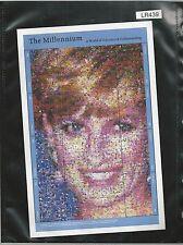 "The Millennium Princess Diana Sheetlet Guyana ""A World Of Tolerance &"" (LR439)"