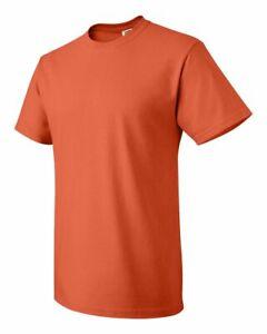 Fruit of the loom Men's HD Cotton Plain Crew Neck Short Sleeves T-Shirt 3930R
