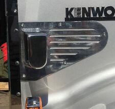 Polished Spotlight Bonnet Mounts to suit Kenworth Trucks