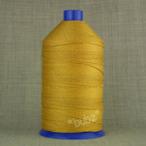 VERY STRONG TKT 8 GOLD SEWING THREAD 1750m SPOOL CORESPUN LEATHER OXELLA RASANT
