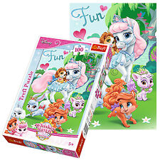 Trefl 100 Piece Kids Girls Disney Princess Pony Horses Jigsaw Puzzle NEW