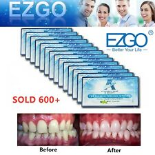 EZGO A+ A Plus 28pc FDA Registered Teeth Whitening Strips Bleaching 6% hp