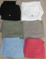 Chico's Cotton Blend Pants Asst Colors & Sizes NWOT