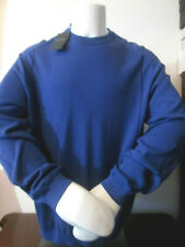 BLACK LABEL GIORGIO ARMANI-ROYAL BLUE 100%CASHMERE KNIT-$1195-XL