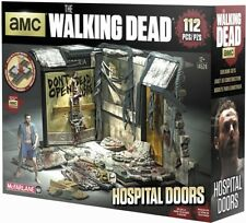 McFarlane Toys The Walking Dead Hospital Doors Building Set #14524