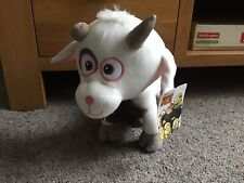 """OFFICIAL DESPICABLE ME 3 LUCKY THE UNI GOAT LARGE 10"""" SOFT PLUSH TOY TEDDY NEW"""