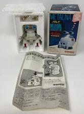 "Vintage 1984 Bandai 2.5"" Metalna Mildgirl Mildrobo Robot In Original Box"