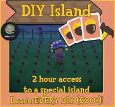 Animal Crossing New Horizons DIY island come and learn ALL diy in the game