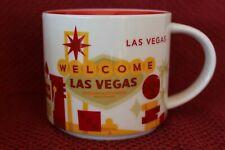 Starbucks Welcome to Las Vegas Coffee Mug Cup Tea 2015 You Are Here Collection