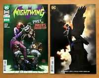 Nightwing 57 2019 Chris Mooneyham Main Cover + Jeff Dekal Cover B Variant DC NM