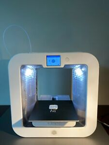 White 3D Systems Cube 3rd Generation Printer Open Source Direct Feed Solution